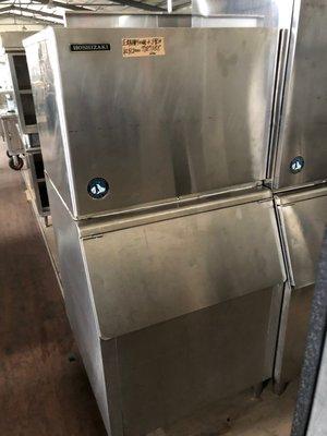 達慶餐飲設備 八里展示倉庫 二手商品 企鵝牌400磅水冷製冰機