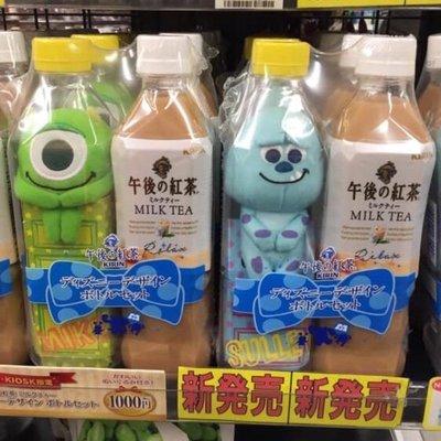 日本午後紅茶限定 x 怪獸玩偶x1(不...