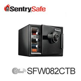 【皓翔居家安全館】Sentry Safe 機械式防水耐火保險箱(SFW082CTB)