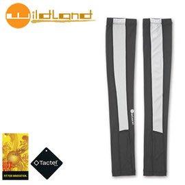 丹大戶外【Wildand】荒野 中性開洞抗UV透氣袖套 加長設計 長度至手背 W1801-93 深灰色