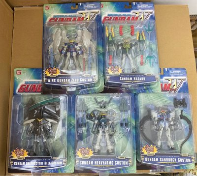 全新 美版 MIA US Robot 魂 機動戰士 高達 新機動戰記 Wing Gundam Zero 0 Custom 飛翼高達零式 雙龍 死神 重炮 沙漠