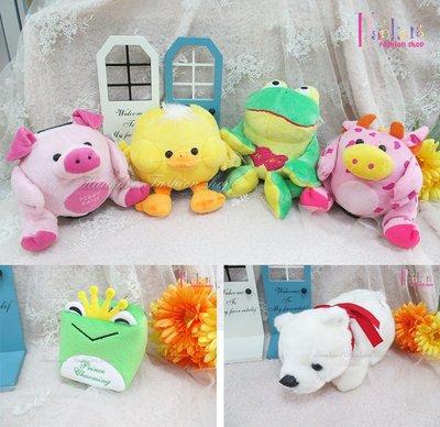 ☆[Hankaro]☆流行可愛動物玩偶造型存錢罐(樣品出清)