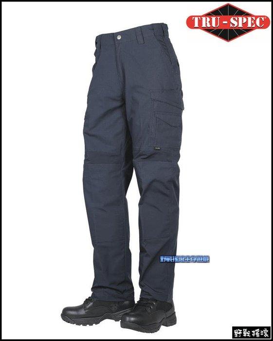 【野戰搖滾】美國 TRU-SPEC 24-7 PRO FLEX 戰術長褲【海軍藍色】 迷彩褲勤務褲工作褲特勤軍警特警褲