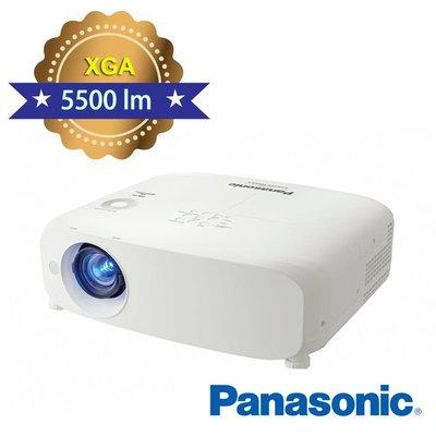 Panasonic日本 國際牌5500高流明投影機 PT-VX610T  (XGA 5500高流明投影機 16000:1