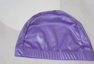 特別優惠出清價 泳帽一頂29元 KINI泳具-布泳帽-寬邊(特多龍)-銀河珠光款-珍珠紫