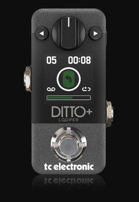 【成功樂器 . 音響】TC Electronic Ditto + Looper 效果器 樂句循環器