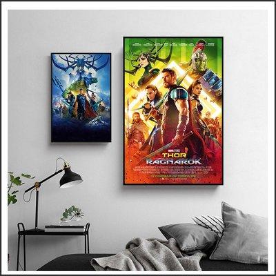 日本製畫布 電影海報 雷神索爾3 諸神的黃昏 Thor 掛畫 無框畫 @Movie PoP 賣場多款海報~