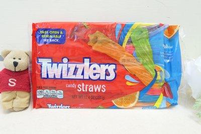 【Sunny Buy】◎預購◎ Twizzlers 七彩綜合口味 351g 扭扭糖蠟燭糖吸管糖