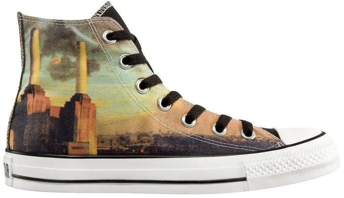 converse x Pink Floyd  Animal 帆布鞋 搖滾風