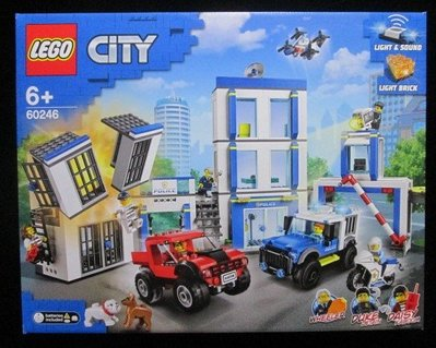(STH)2020年 最新 LEGO  樂高  CITY 城市系列- 警察局   60246