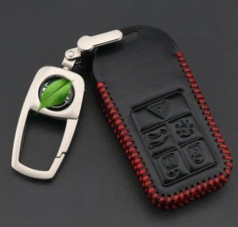 【機車王子】AP Volvo S60 XC60 V40 XC70 XC90 S80 V60 POLESTAR 汽車真皮鑰匙包鑰匙套鑰