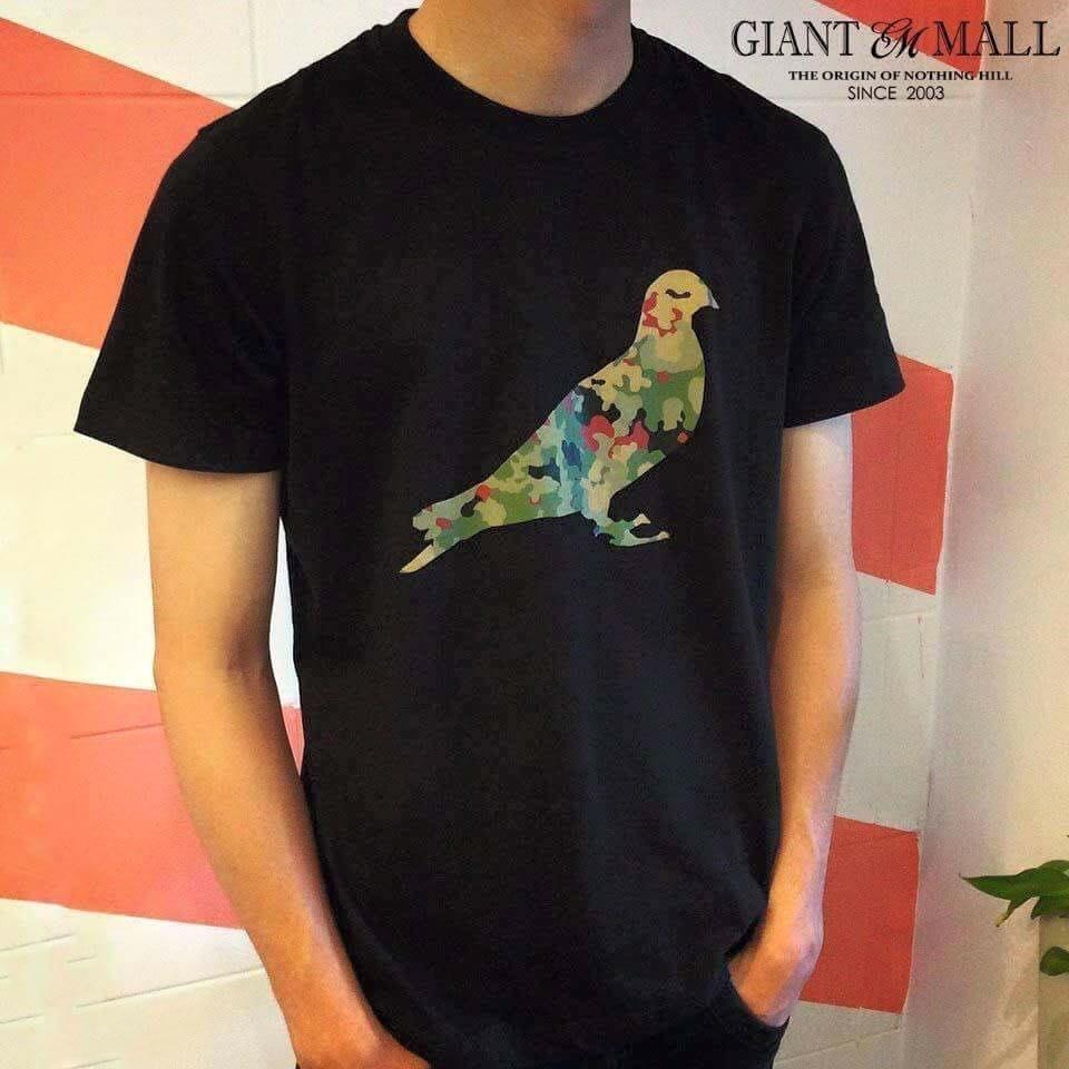 【GIANT MALL】Staple The Pigeon Camo Fill In Tee  美國 紐約 鴿子 迷彩