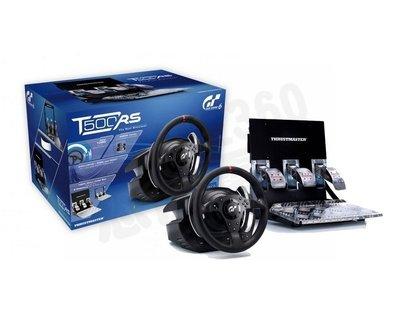 THRUSTMASTER T500RS GT6 賽車方向盤 支援 PS4 PS3 PC 公司貨一年保固 宅配免運費