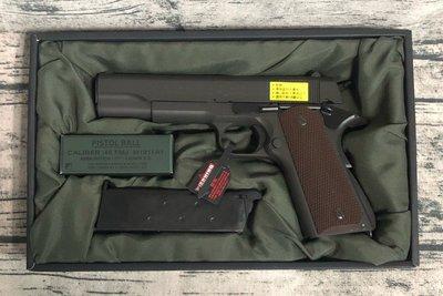 《GTS》馬牌 MARUI M1911A1 GOVERNMENT GBB 瓦斯手槍 黑色