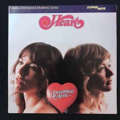 [發燒名盤黑膠 ] Heart 紅心合唱團 / Dreamboat Annie (Nautilus 發燒碟)