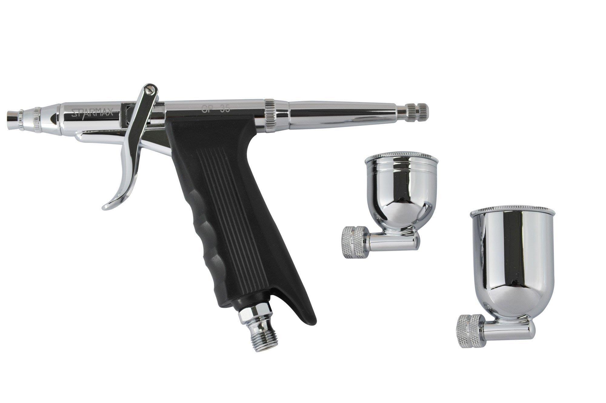 『最便宜噴筆』 SPARMAX 漢弓 GP-35 0.35mm 板機式 模型 美術廣告 彩繪指甲專用噴筆