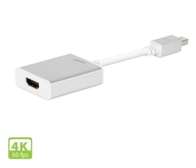 【愛蘋坊】moshi Mini DisplayPort to HDMI 4k 轉接線(Pro專業版)