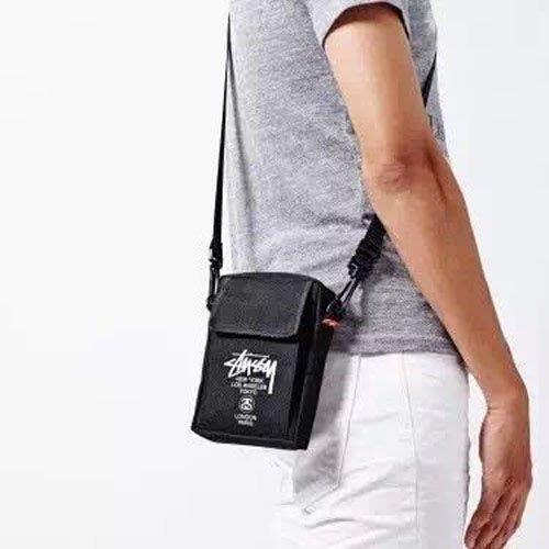 │遇見。小舖│B60503 日本雜誌smart 附錄 STUSSY 側背小包  斜肩包 隨身小物包