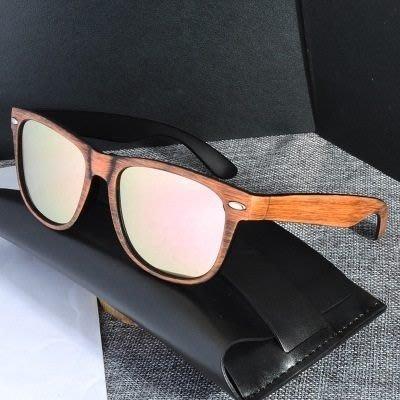 墨鏡 偏光太陽眼鏡-霧面拉絲木頭紋路男女眼鏡配件6色73en82[獨家進口][米蘭精品]