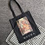 [瑞絲小舖]~日雜和樂8月號2019附錄MUCHA慕夏名畫圖案托特包 單肩包 手提包 環保袋 購物袋 補習袋 書包