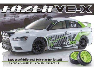 創億RC 京商 Kyosho 30919T1 1/10 EP FAZER VE-X Lancer Evo