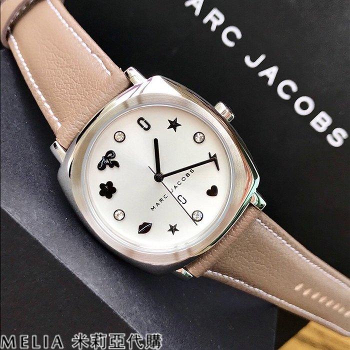 Melia 米莉亞代購 美國代買 Marc Jacobs MJ 女士款 石英錶 時尚 MJ1563 卡其色錶帶 銀框