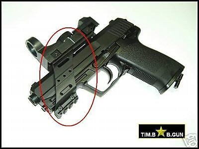 HK USP P8 M92通用型專用寬軌鏡橋軌道組(生存遊戲6MM BB槍全民槍戰CS)G17.M92.P99