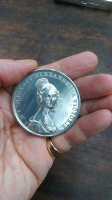 大草原典藏,百年英國女王銀章,42克