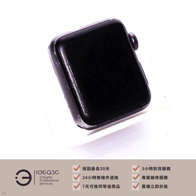 「點子3C」一元起標!Apple Watch Series 3 38mm GPS版【螢幕刮傷明顯 螢幕邊框顯示泛紫】AW3 A1858 ZD441