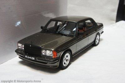【現貨特價】樹脂 1:18 Otto Mercedes Benz AMG 280E W123 Saloon 灰 ※限量※