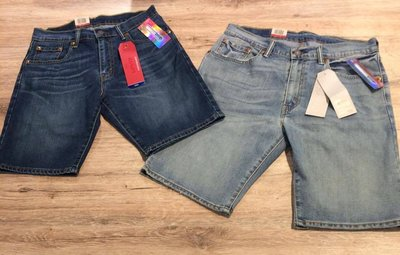 【MASS】LEVI'S LEVIS 505 34505-0128 牛仔褲 短褲 深色/淺色
