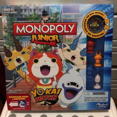 全新未開封 美版 妖怪手錶 大富翁 Yo Kai Watch Monopoly