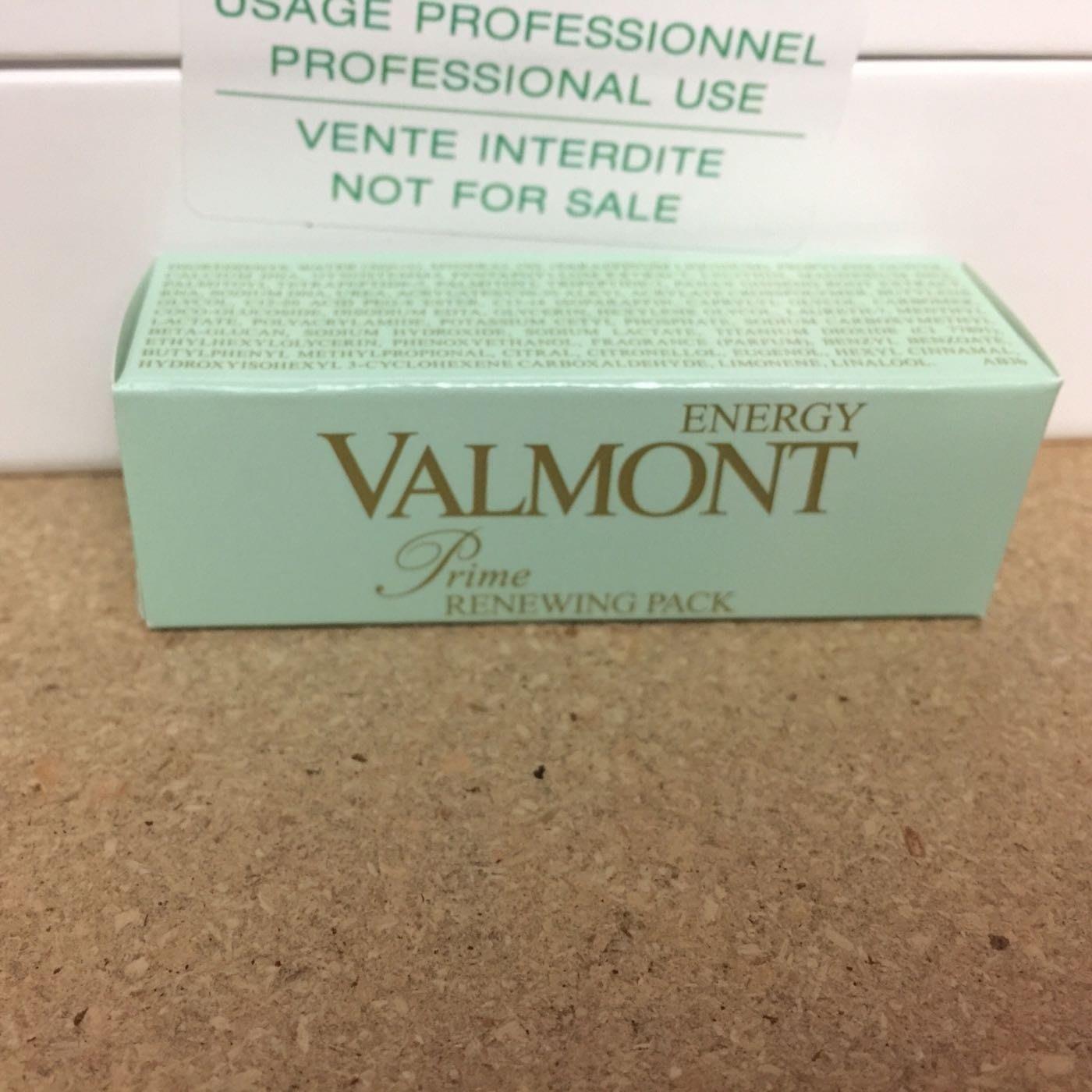 本週特惠Valmont 更新面膜prime renewing pack 5ml