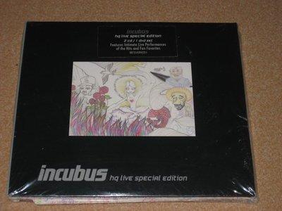 正版 2CD+DVD《重擊合唱團》搖滾極致現場演唱會實況/ Incubus HQ Live Special Editio