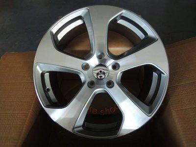 和田☆ 全新 (類 福斯 VW/GTI 6) 17吋5孔112 奧迪 AUDI 灰車面鋁圈