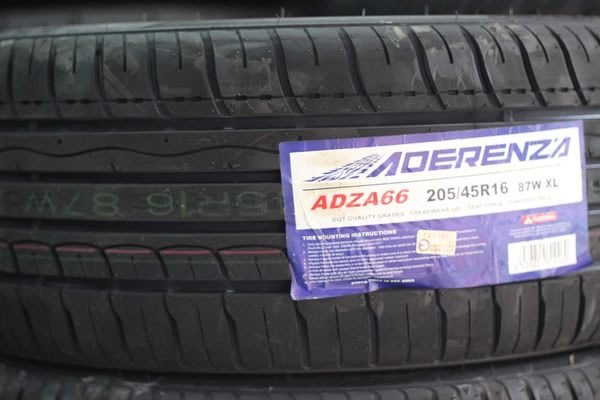 翔奕輪胎 艾普克 AUTO AG66 205/45/16 左右不對稱優質胎 RE001 T1R PS3 NS2 RSR I-PRO AD08 可刷卡