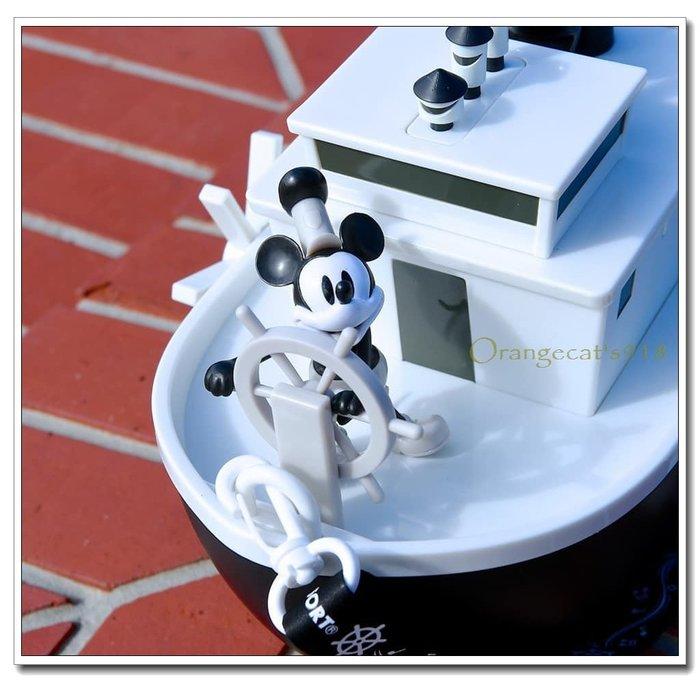 現貨 東京迪士尼樂園 正品 米奇90週年紀念 蒸汽船 爆米花桶 黑白米奇 氣船威力號