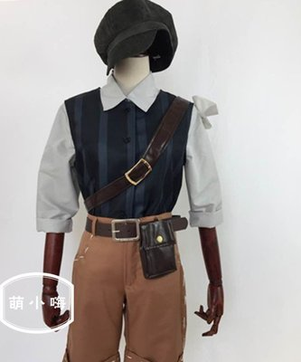 送襪子帽子第五人格cos服求生者傭兵彈簧手服裝cosplay套裝 蠟筆小新