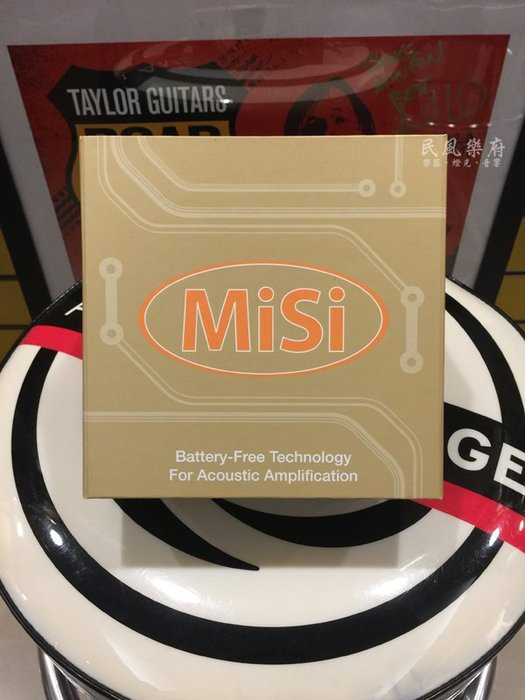 《民風樂府》MiSi  Trio VT 木吉他下琴枕拾音器 可調音量及音色版本 代理商公司貨 現貨在庫