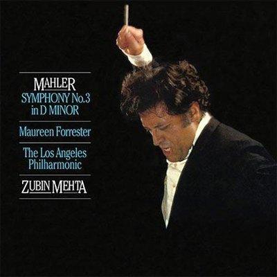 合友唱片 馬勒:第三號交響曲 女低音:佛勒斯特,祖賓梅塔 指揮 洛杉磯愛樂 雙層 (SACD+CD)