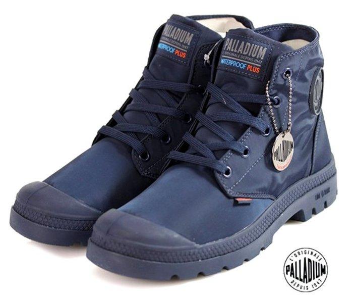 =CodE= PALLADIUM PAMPA PUDDLE LITE+ WP 防水輕量軍靴(深藍)76117-400 男