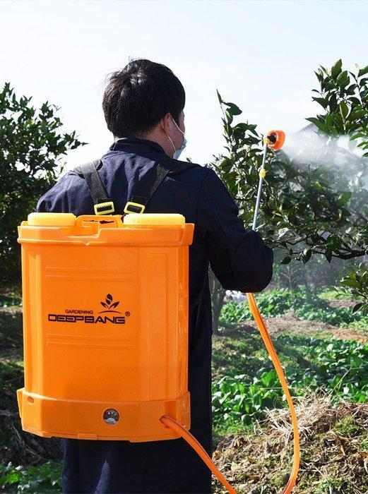 【19年新款二代智能】電動噴霧器背負式充電果樹打藥機噴藥高壓消毒噴霧機