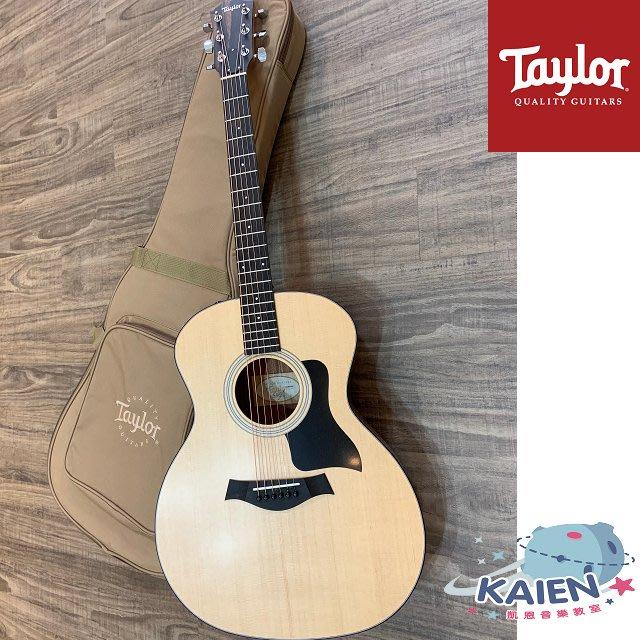 『凱恩音樂教室』免運分期 Taylor 專賣 114E 面單 木吉他 西卡雲杉 墨西哥製 TLGF-114-E