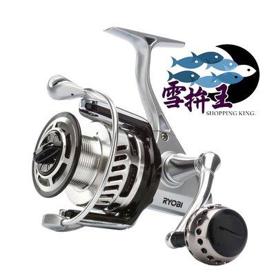 ✦✧雪拚王釣具✦✧ 日本 RYOBI 遠投捲線器 AP.POWER EX 5000型*雙線杯 免運優惠中!