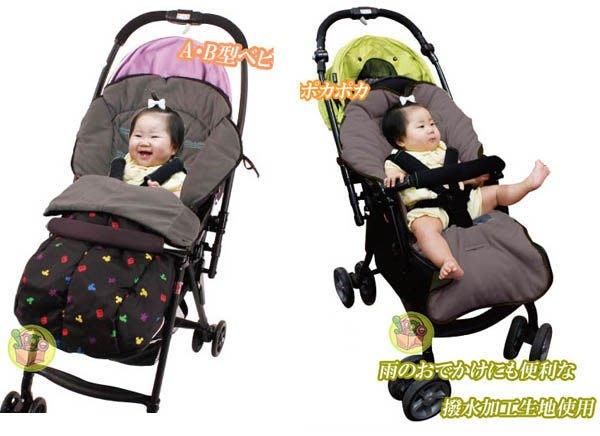 【JPGO】宅配限定!出清~日本進口 迪士尼造型 嬰兒車專用睡袋 2way~米妮#060/KT#084/美樂蒂#091