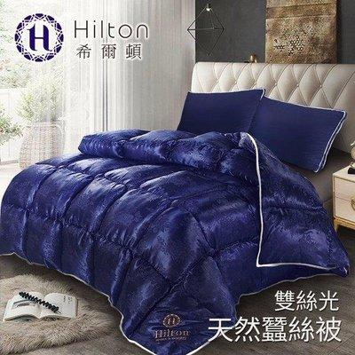 現貨【Hilton希爾頓】 拜占庭雙絲光天然蠶絲被2.5KG/ 藍 新北市