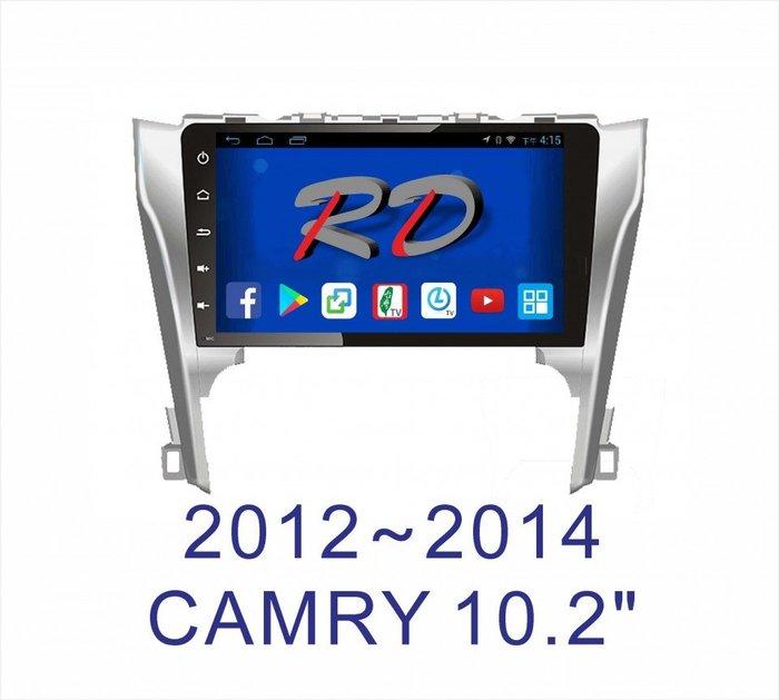 全美汽車影音 2015年後 CAMRY 專車專用安卓機 10.2吋螢幕 台灣設計組裝 系統穩定順暢 售服完善