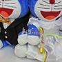 ☆孟之坊婚禮精品舘☆哆啦A夢絨毛娃娃玩偶.婚禮擺設.結婚款.婚紗款.壓床娃娃