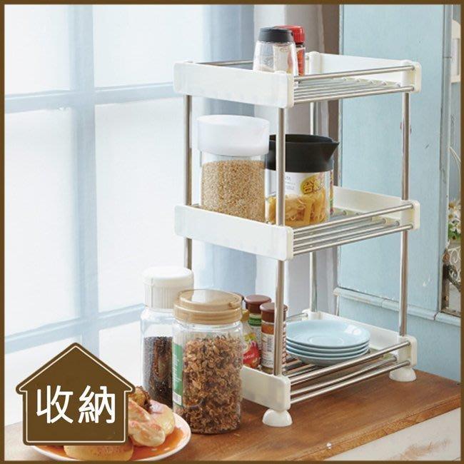 辦公室/臥室/客廳【居家大師】不鏽鋼廚房收納架/置物架 BCF19A 收納架/置物架