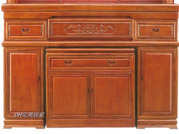 【DH】商品貨號W36-33商品名稱《實木》5.1尺神桌(中桌+下桌)圖一另有4.2尺。木匠師傅精心製作。主要地區免運費